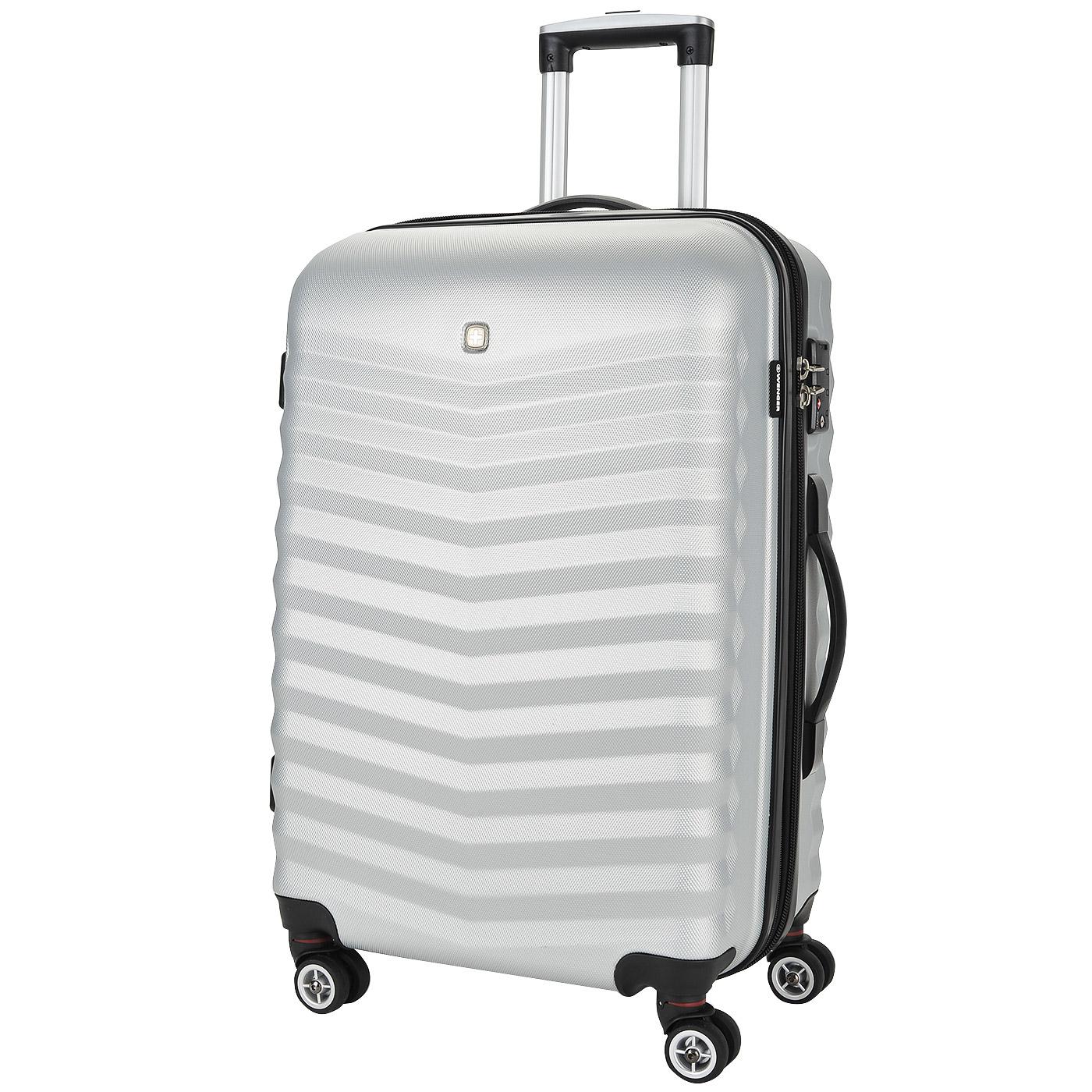 Чемодан маленький S из ABS-пластика Wenger Fribourg SW32300467 серый ... 570e7616a0c