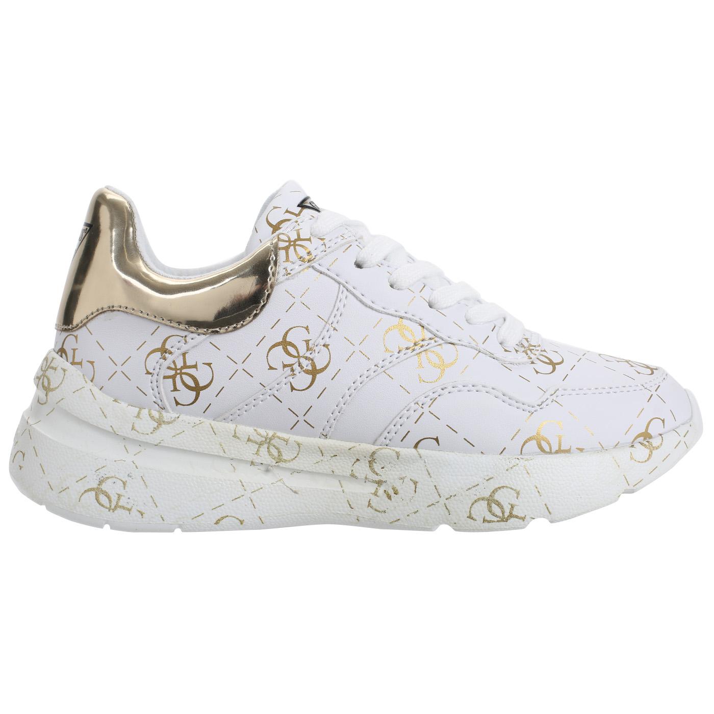 be6b57f48 Белые кроссовки на шнуровке Guess Mayla Белые кроссовки на шнуровке Guess  Mayla ...