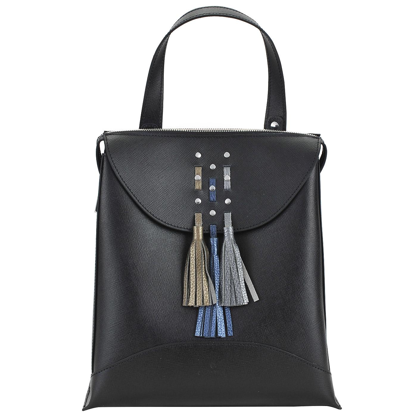 cc9f5bd94751 Вместительный женский рюкзак из сафьяновой кожи Chatte Вместительный женский  рюкзак из сафьяновой кожи Chatte ...