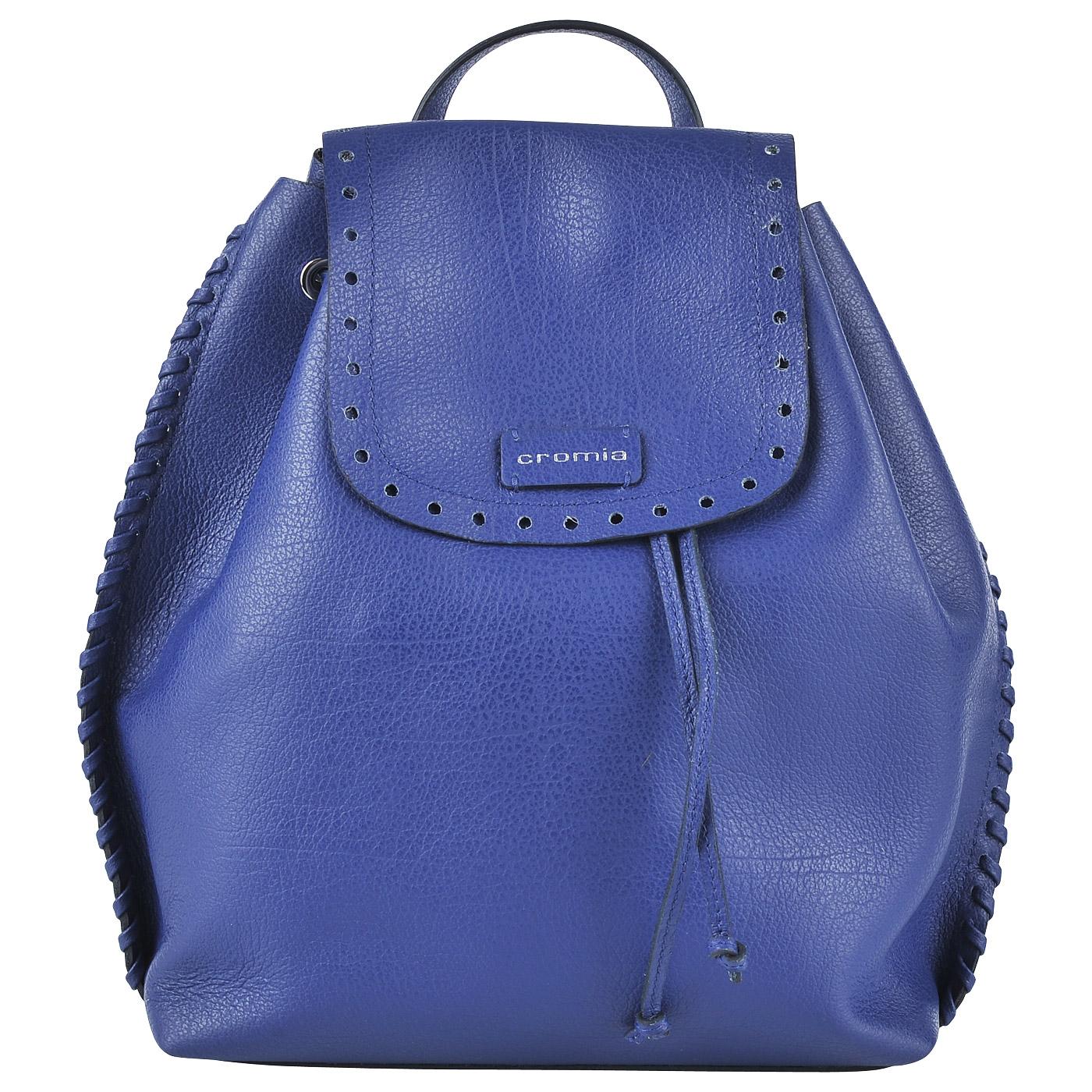 e4d65f98b5ff Женский кожаный рюкзак Cromia Pedra 1403296 jeans - 2000557669864 ...