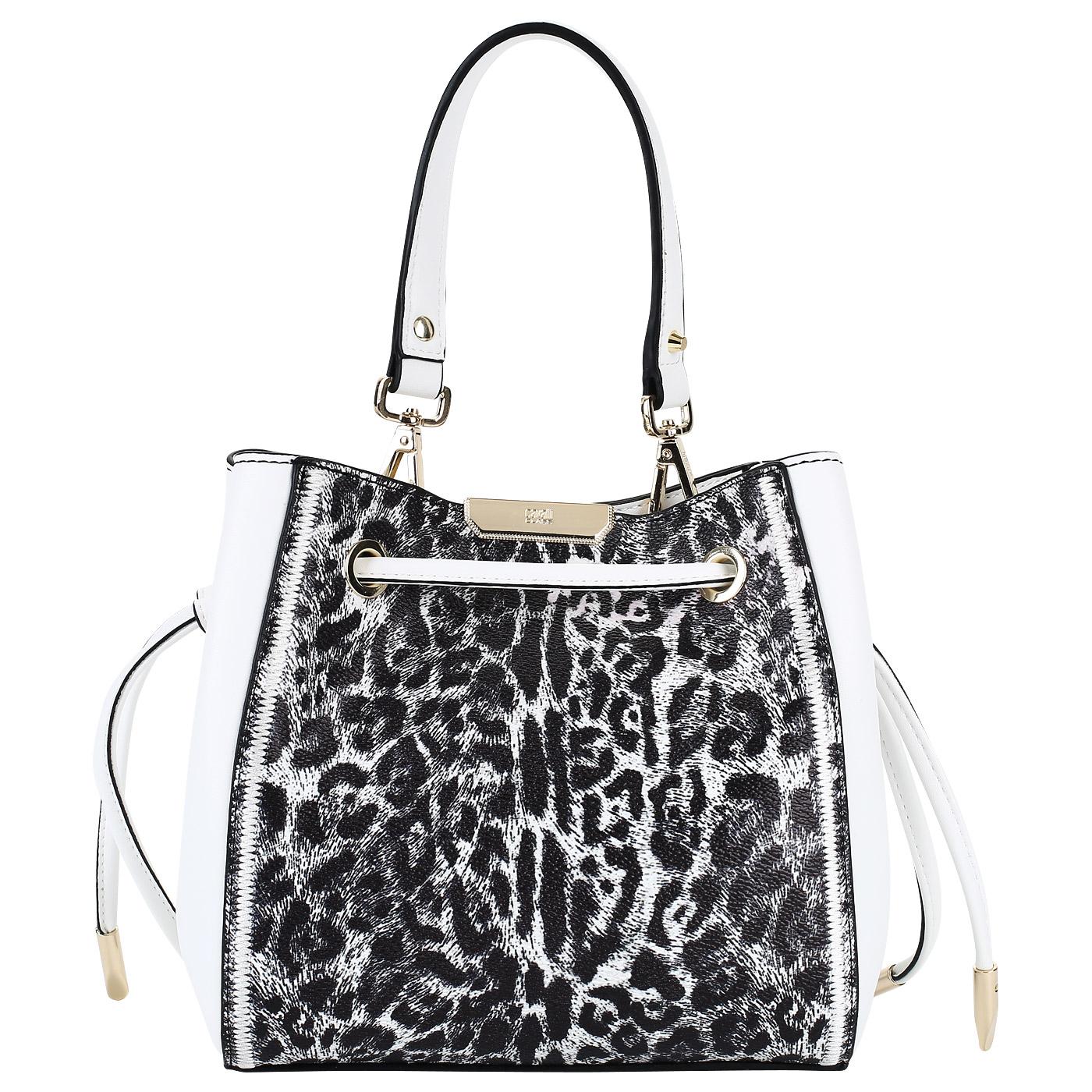 2945d25ac43c ... Женская сумка-торба со съемным плечевым ремешком Cavalli Class Summer  Leo ...