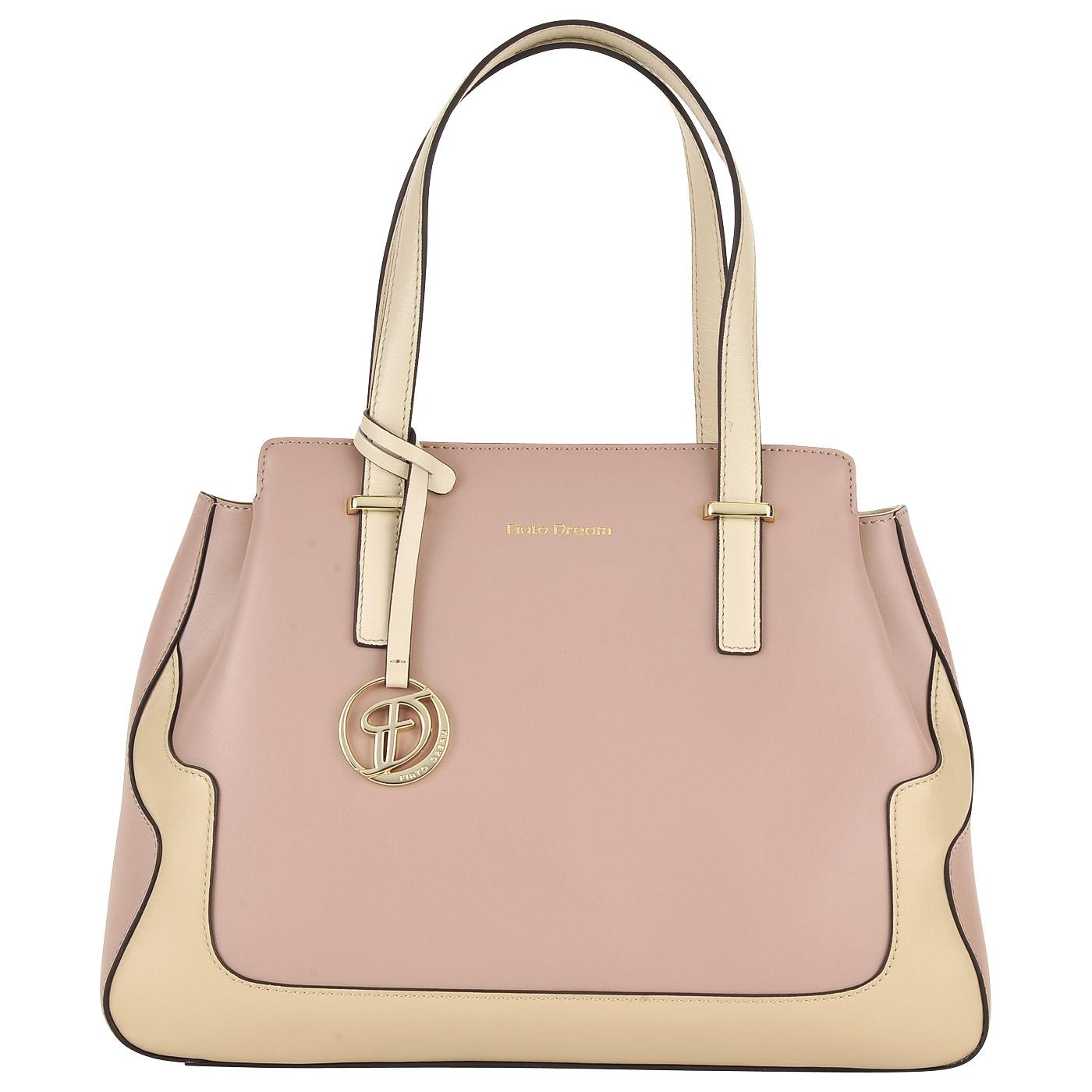 035bc496d605 Вместительная сумка из натуральной кожи Fiato Dream Вместительная сумка из  натуральной кожи Fiato Dream ...