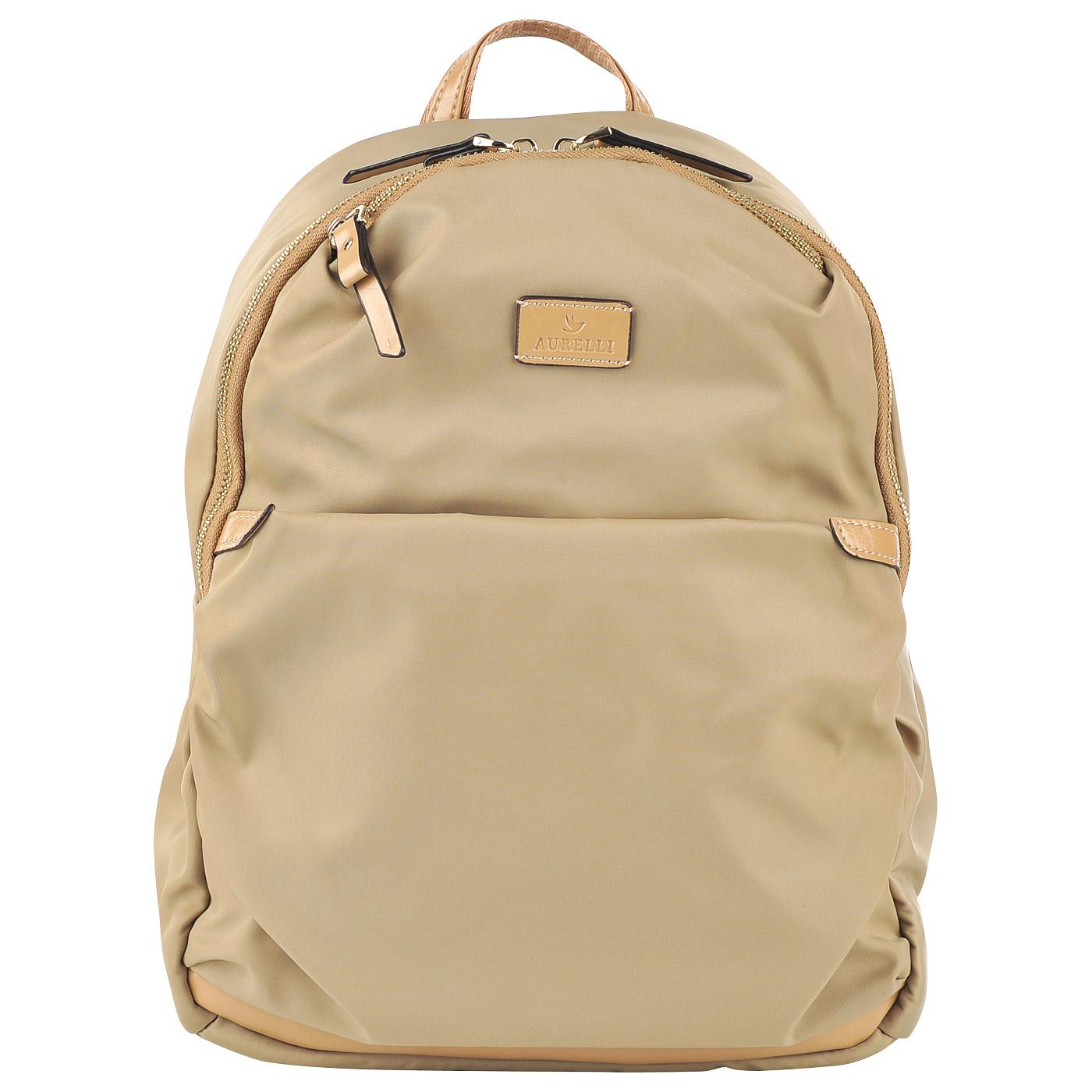Женский рюкзак Aurelli S17004G taupe - 2000557724075 бежевый ... 9ed5f3c5695