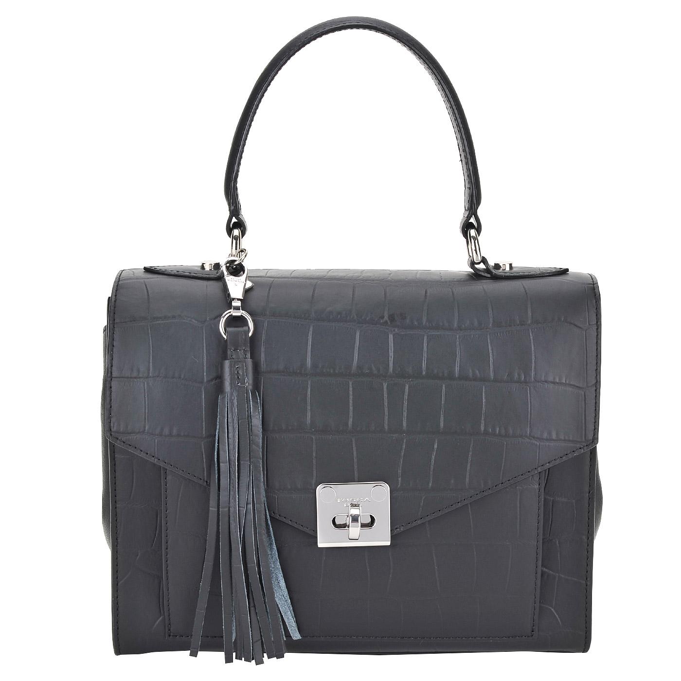 164a67954191 Женская кожаная сумка Tosca Blu Royal Tea 1610B23_black ...
