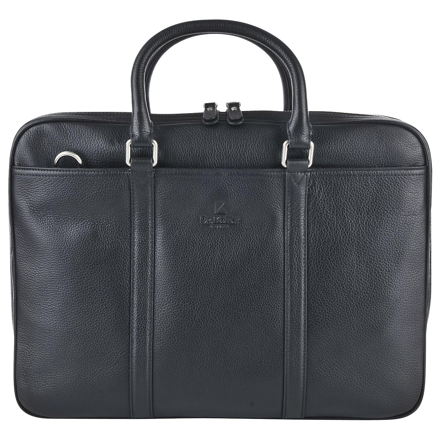 7462ac561357 Мужская кожаная сумка для документов Dr. Koffer B402619-220-04 ...