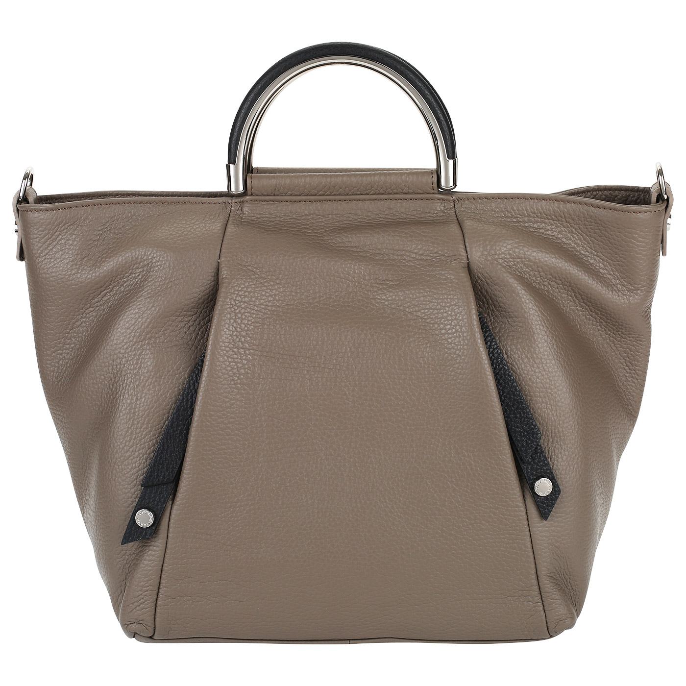 a2a646773dd3 ... Кожаная сумка с ручками и ремешком Roberta Gandolfi Canneloni ...
