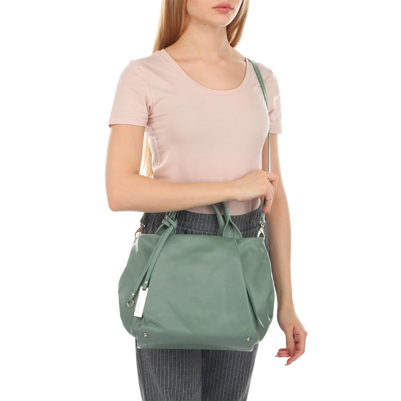 d1ebab39490b Женская сумка из мягкой кожи Ripani Lime 7835LL.00051 ...
