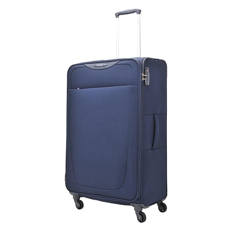 Чемодан на колесахЧемоданы на колесах<br>Материал-полиэстер, легкий и прочный, устойчивый к световому и тепловому воздействию. Четыре колеса вращающиеся на 360°,придают маневренности и распределяют нагрузку равномерно. Выдвижная ручка, ручка сверху и ручка сбоку чемодана. Встроенный кодовый замок с функцией TSA. Возможность увеличения объема. Закрывается на молнию. Внутри одно отделение, в котором прижимные ремни для фиксации вещей и карман на молнии. На крышке чемодана отделение на молнии, в котором прижимные ремни для фиксации вещей. Снаружи на передней стенке чемодана карман на молнии.<br><br>count_sale: 30<br>new: 0<br>sale: 1