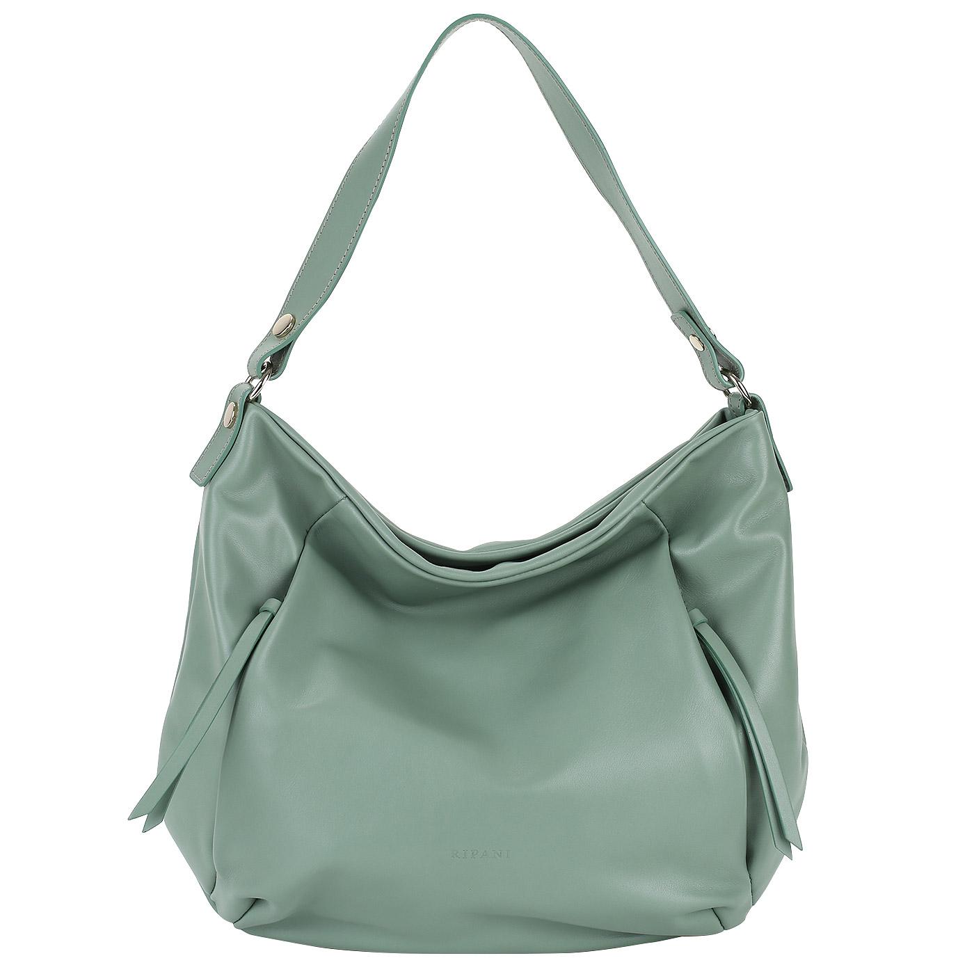 e583ebc045d7 Женская сумка-хобо из кожи Ripani Lime 7836LL.00051 - 2000557807136 ...