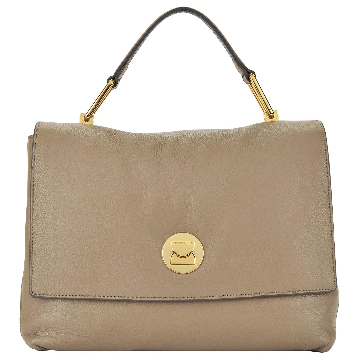 b424153e2d40 Женская кожаная сумка с откидным клапаном Coccinelle Liya BD0 18 01 ...