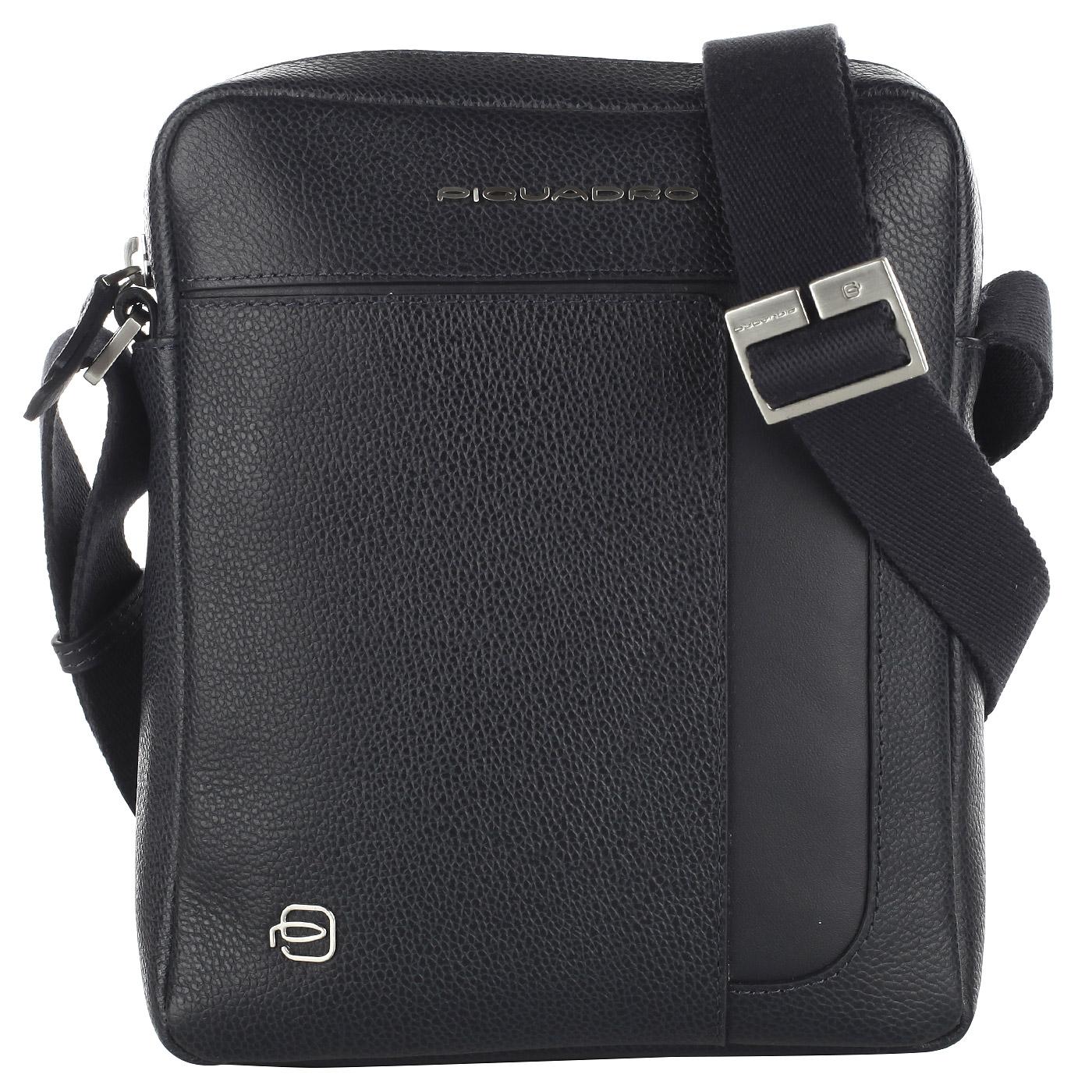 54edd7ce2643 Мужская сумка-планшет из натуральной кожи Piquadro Pan CA4290S95/BLU ...