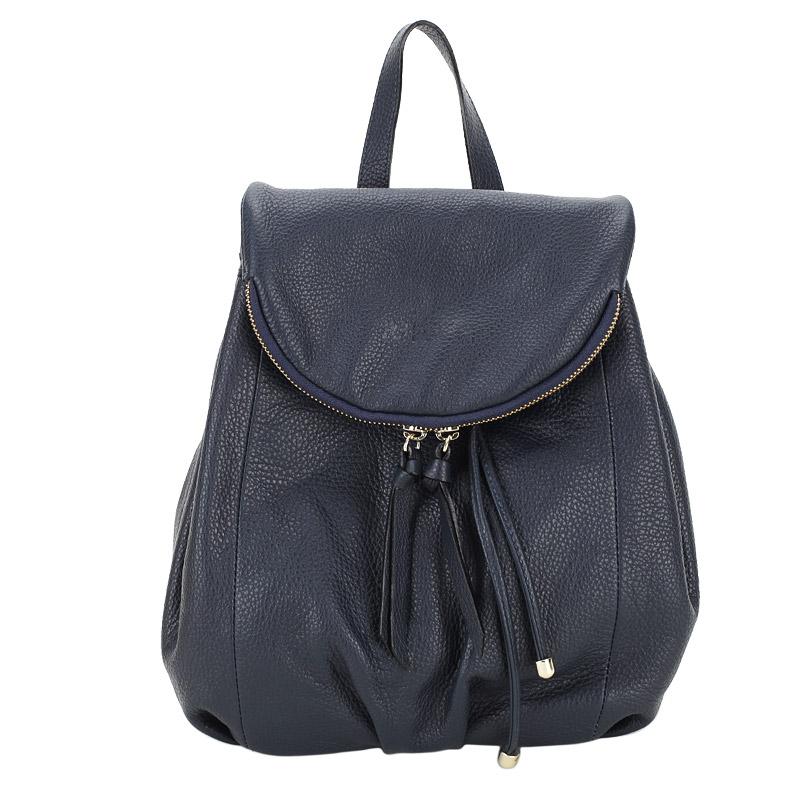 Рюкзак Ripani Aria 5636FF_00002 синий натуральная кожа 28 x 30 купить в интернет-магазине