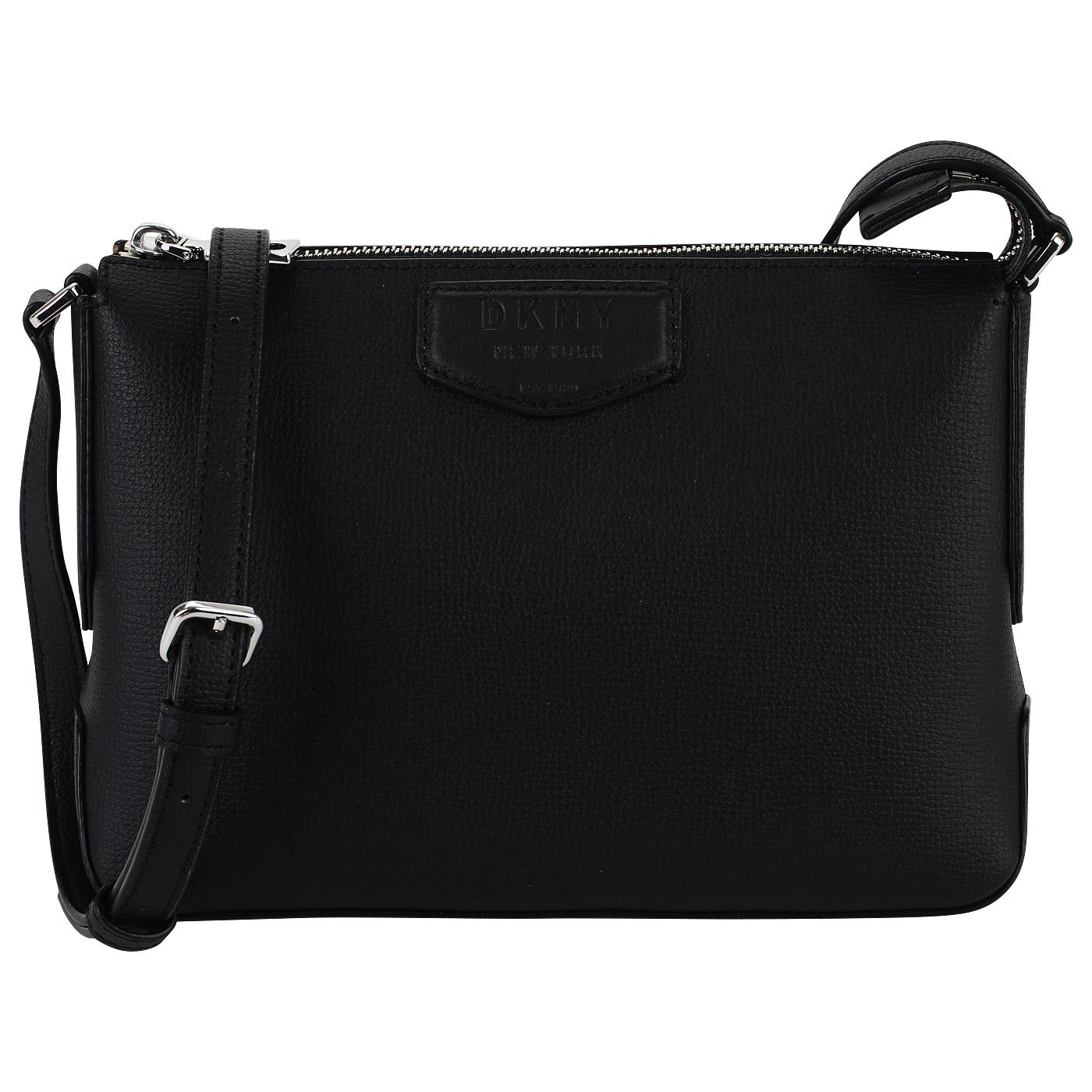 2b3029d4f157 Черная кожаная сумочка DKNY Sullivan R83E8821-B3L - 2000557994713 ...