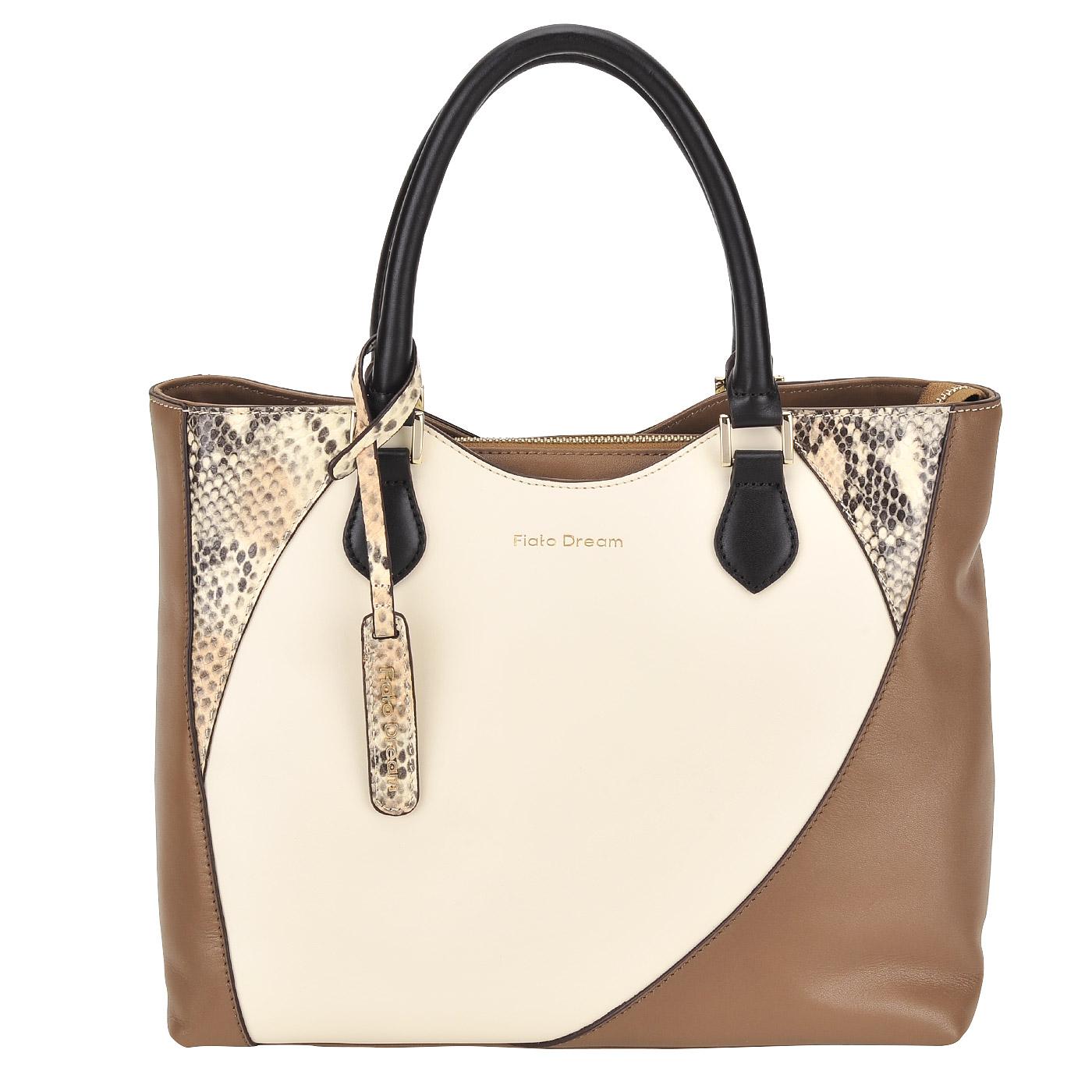 71da51b2e0a3 Женская кожаная сумка Fiato Dream Женская кожаная сумка Fiato Dream ...