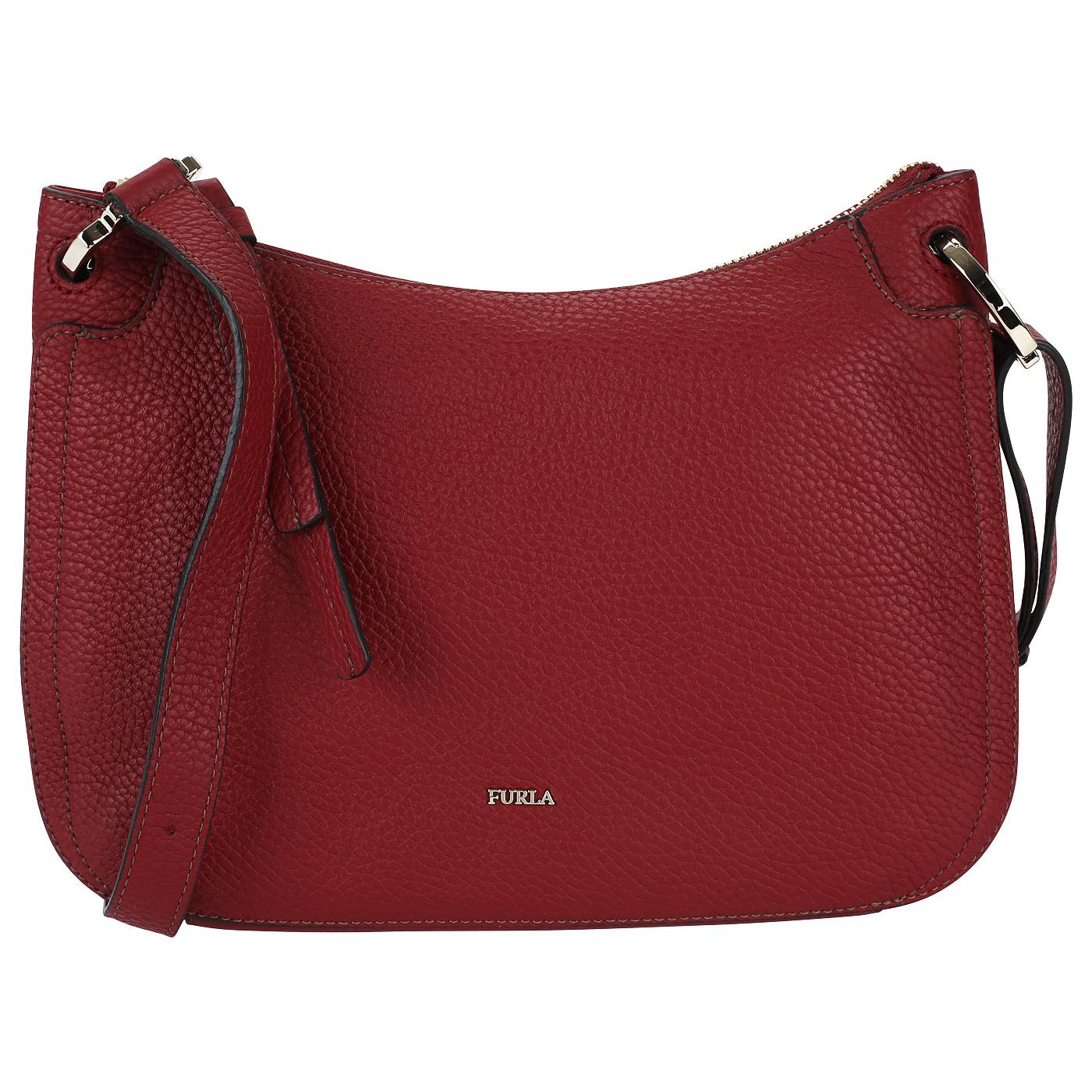 e1e9a1c0b21b Мягкая кожаная сумка Furla Rialto Мягкая кожаная сумка Furla Rialto ...