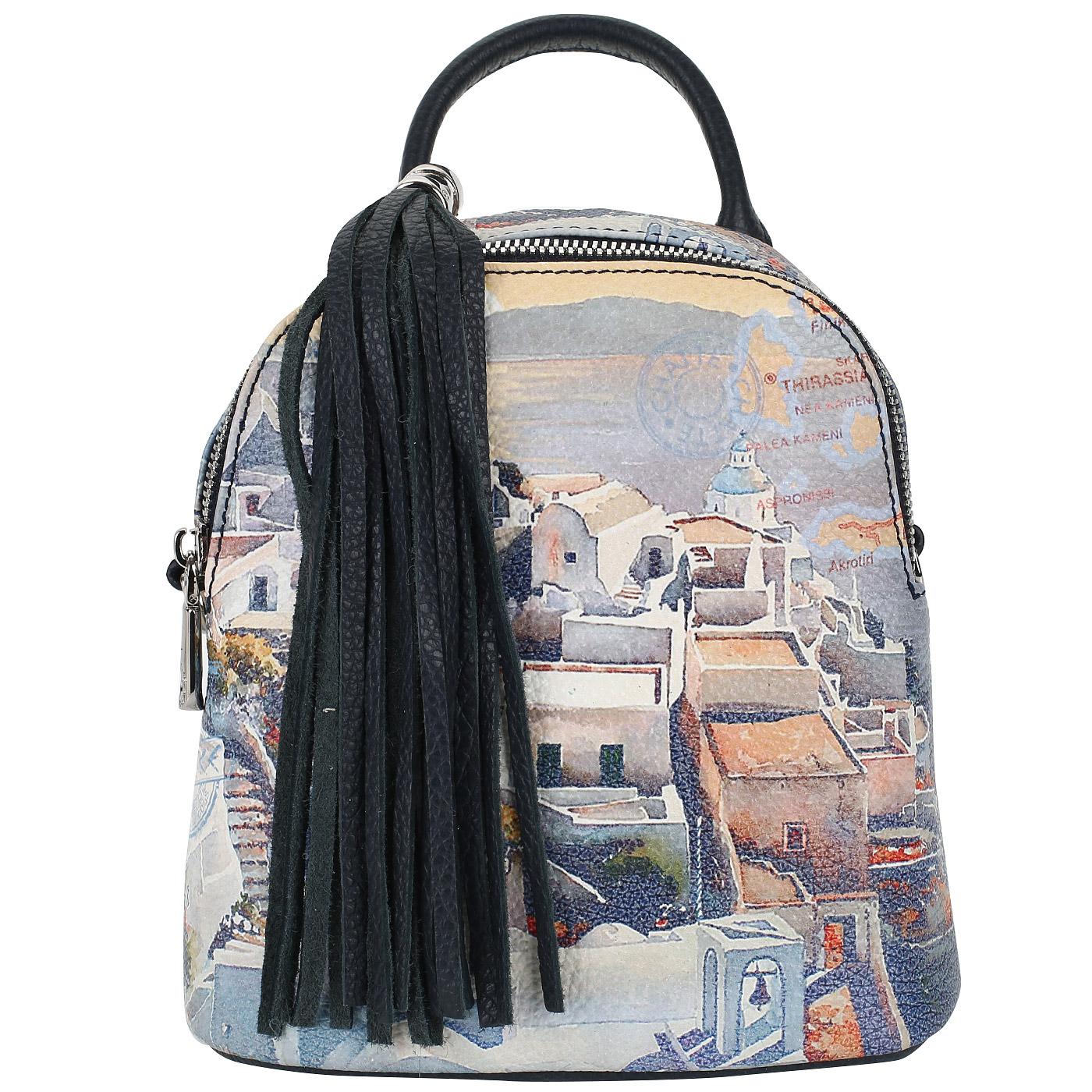 b6c83dcae049 Женский рюкзак с принтом Chatte Женский рюкзак с принтом Chatte ...