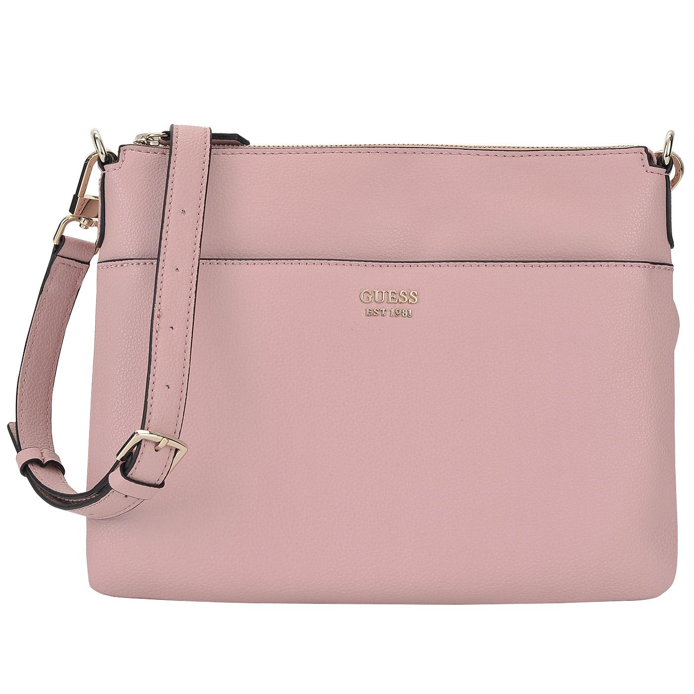 f07459457030 Женская сумка на молнии с плечевым ремешком Guess Digital HWVG68 ...