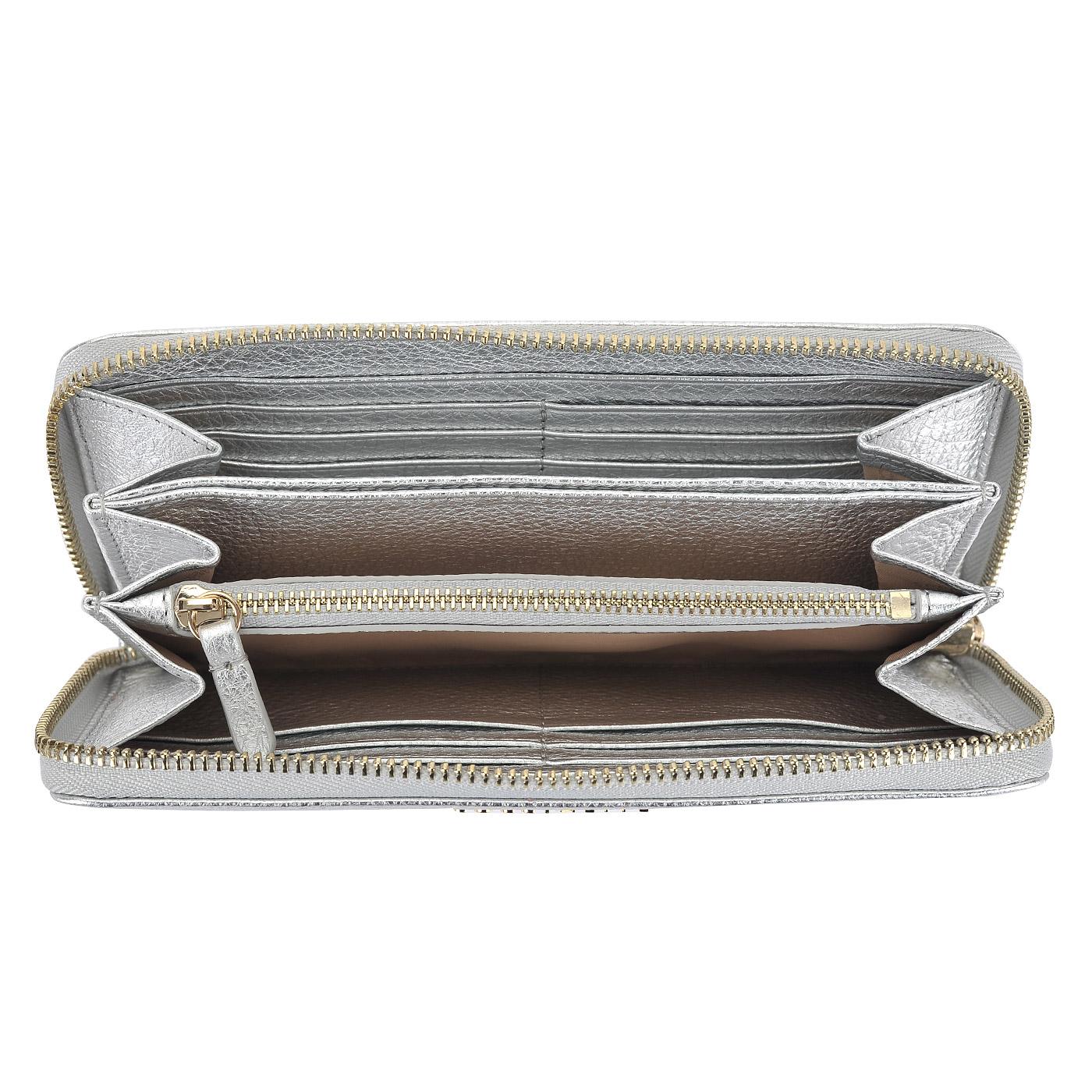 0d54d07b85a0 Женское кожаное портмоне на молнии Coccinelle Metallic Soft AW5 11 ...