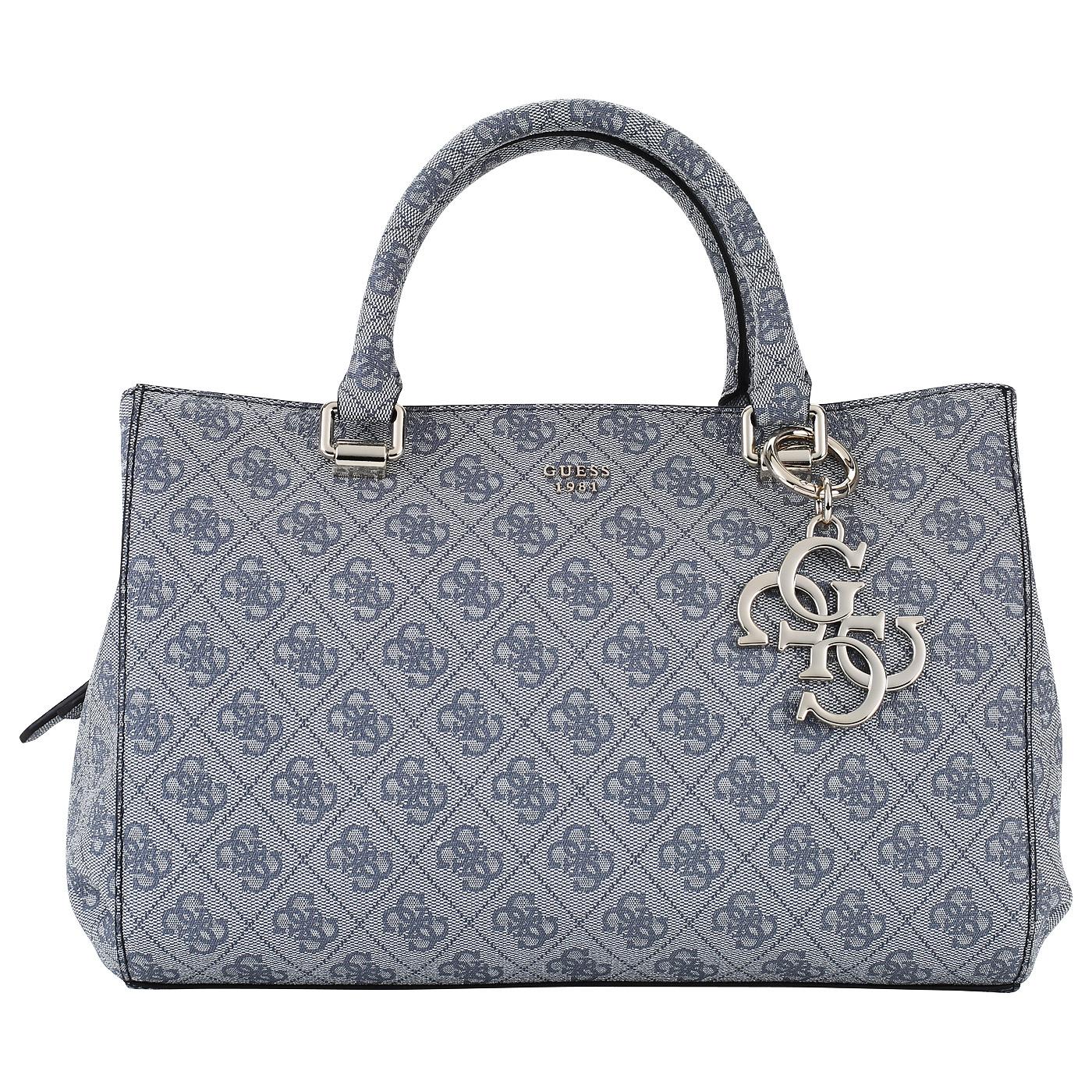 Серая вместительная женская сумка Guess Joleen HWSG68 57070 grey ... df91c809e43