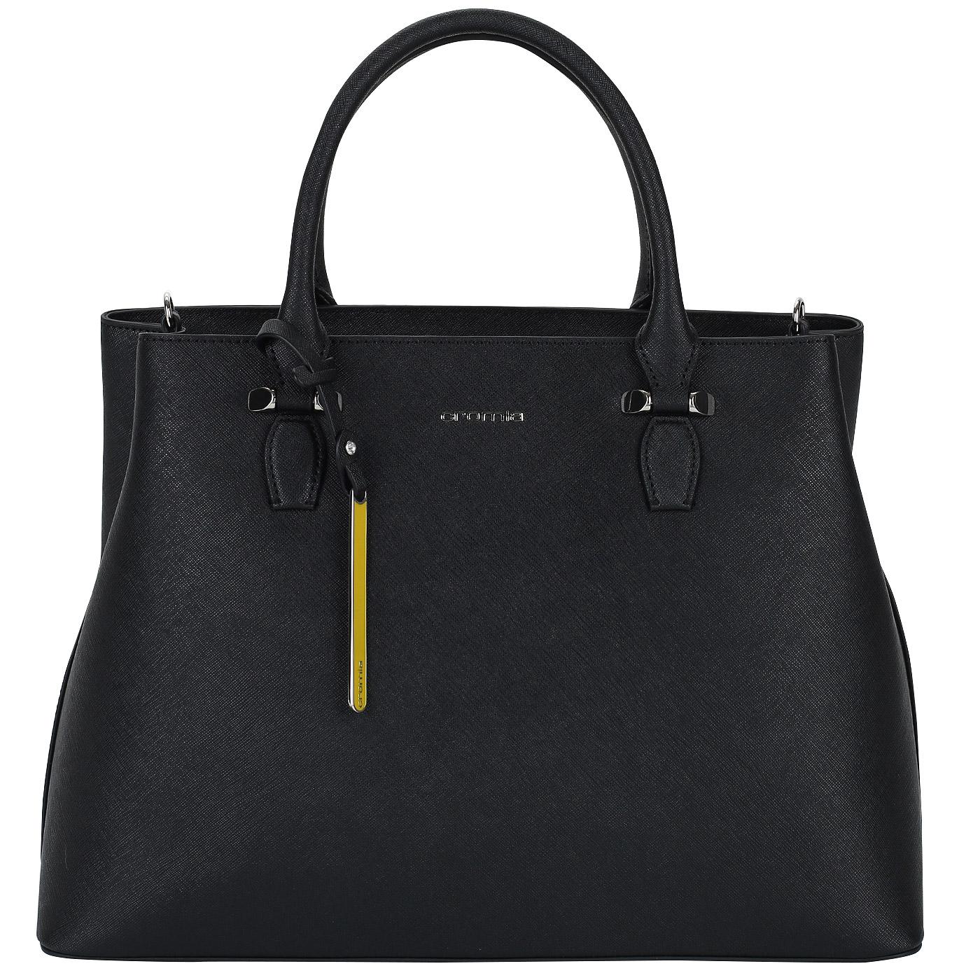 346ca2f487ca Женская сумка из сафьяна Cromia Perla 1403599_nero - 2000557793903 ...