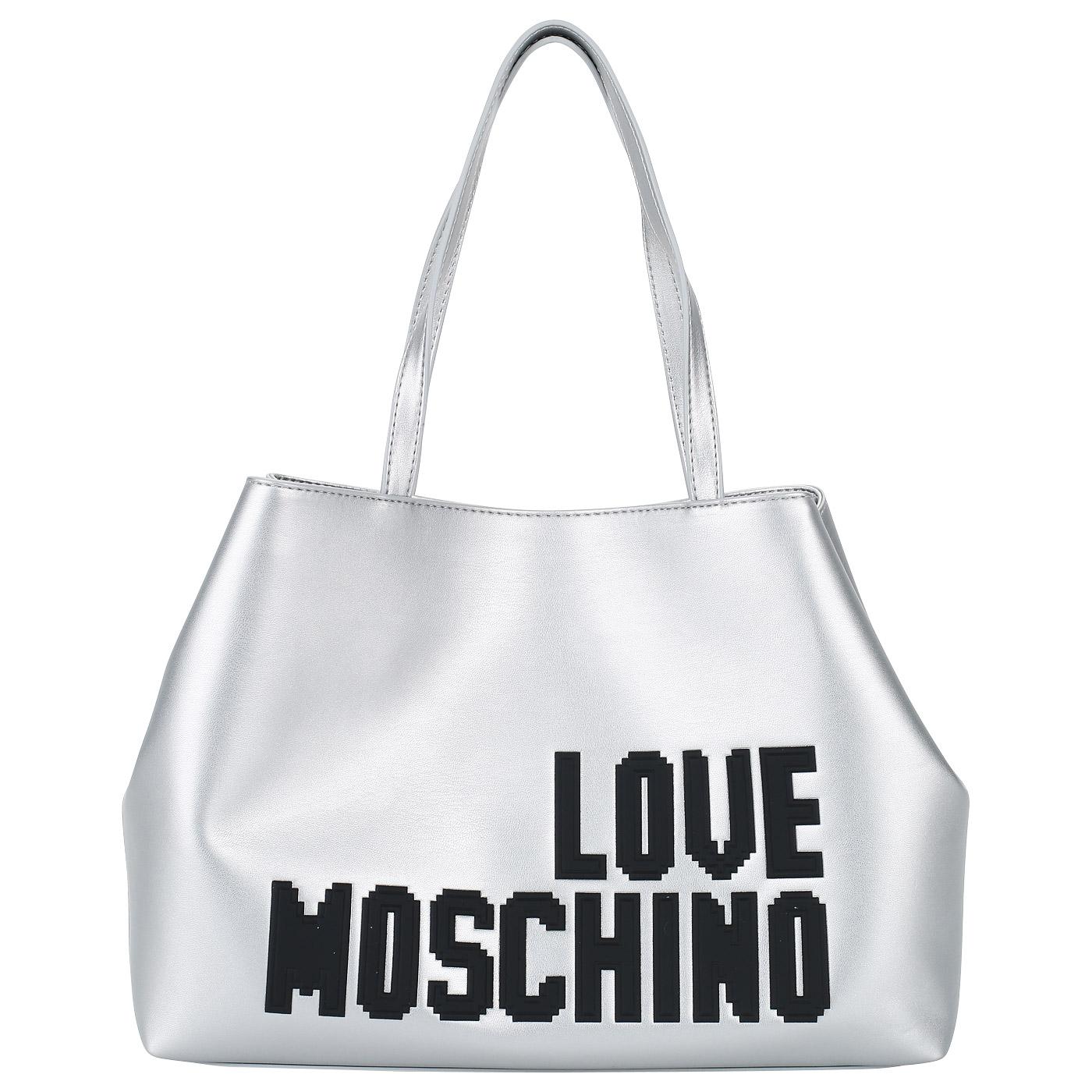 5633d0cf5a01 Вместительная женская сумка Love Moschino Love Pixel JC4067PP15_902 ...