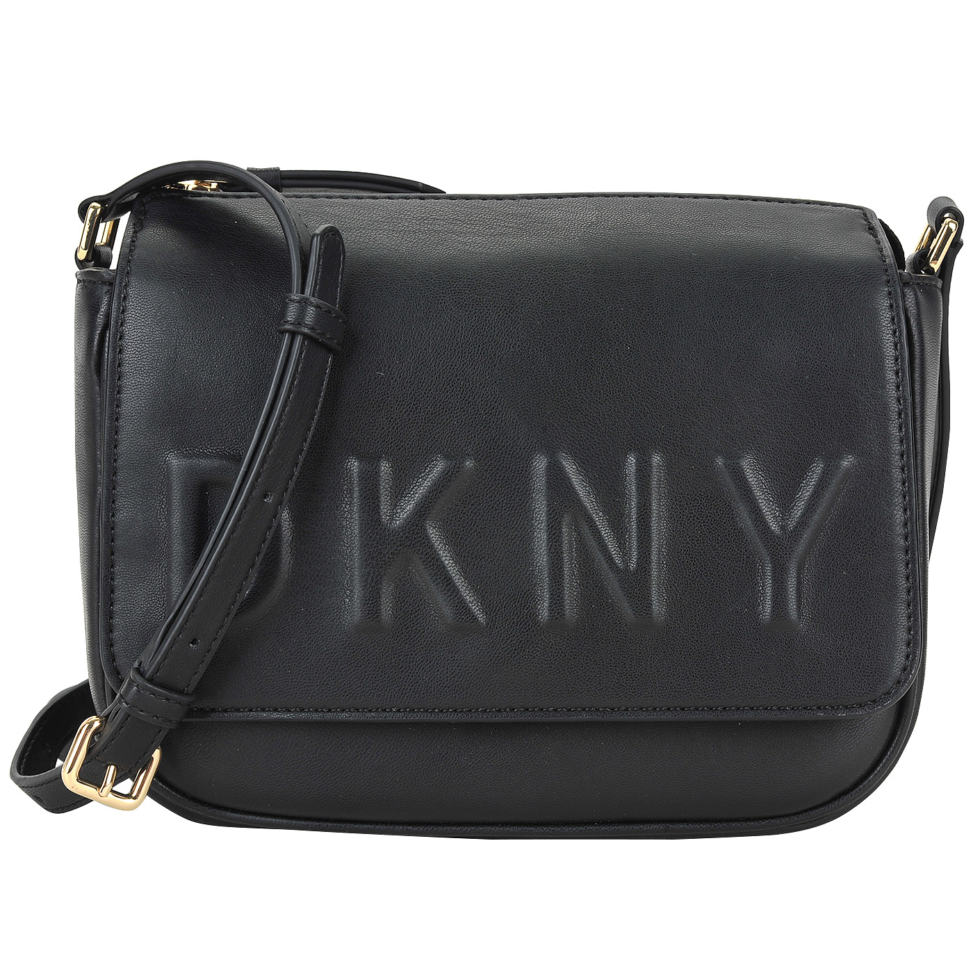 d5803bb47515 Женская черная сумка DKNY Debossed Logo R74EZ060-001 - 2000557833869 ...