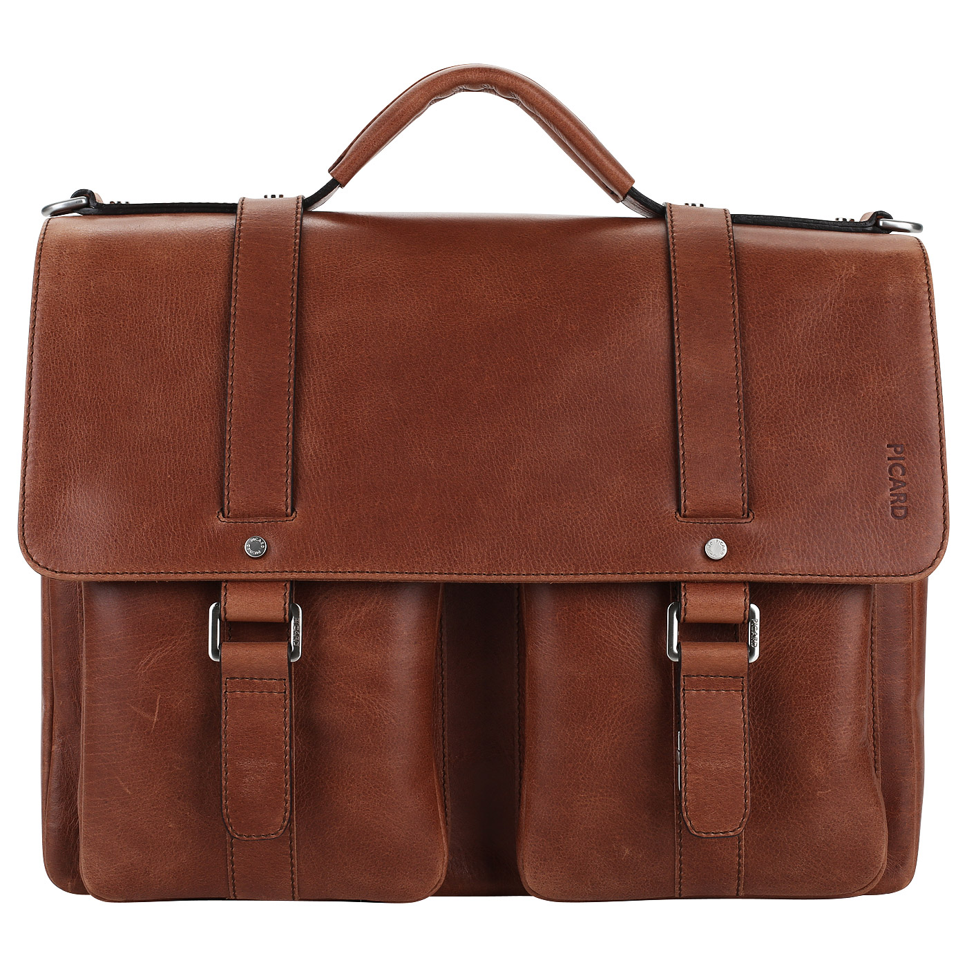 b300db12b2a0 Вместительный мужской портфель из кожи Picard Buddy Вместительный мужской  портфель из кожи Picard Buddy ...