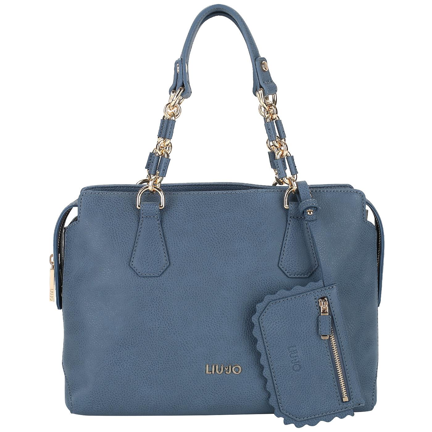 a2a3ea7abfea Женская сумка со съемным кармашком Liu Jo Detroit A18002E0027_blu ...
