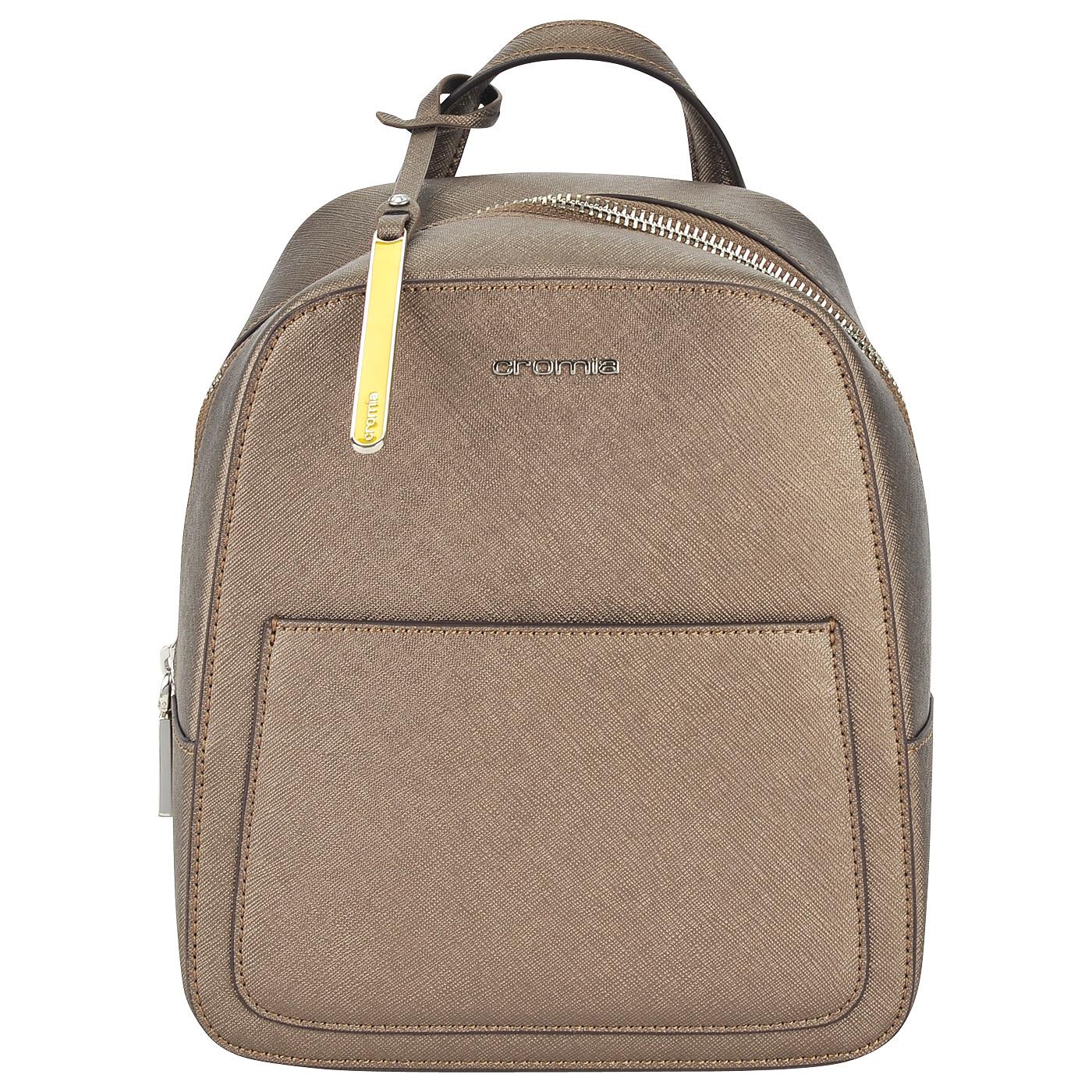 07bd35345628 Маленький женский рюкзак из сафьяновой кожи Cromia Perla ...