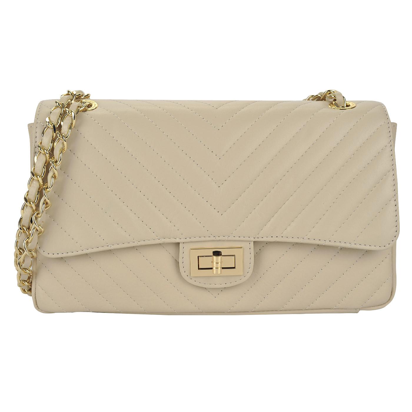 f41ccef47a0b ... Женская стеганая сумка на цепочке через плечо Sara Burglar Giola ...