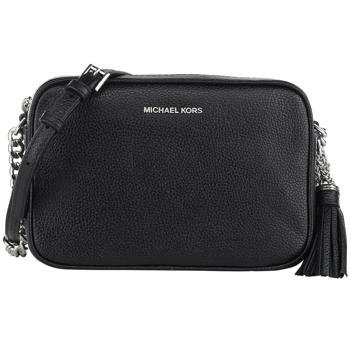 cc36cb1e4738 Женская кожаная сумочка через плечо Michael Kors Ginny 32F7SGNM8L ...