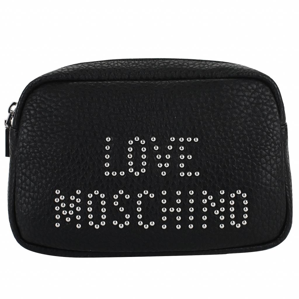 Поясная сумочка Love Moschino Love Studs
