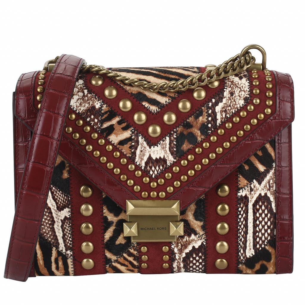 Комбинированная сумка Michael Kors Whitney