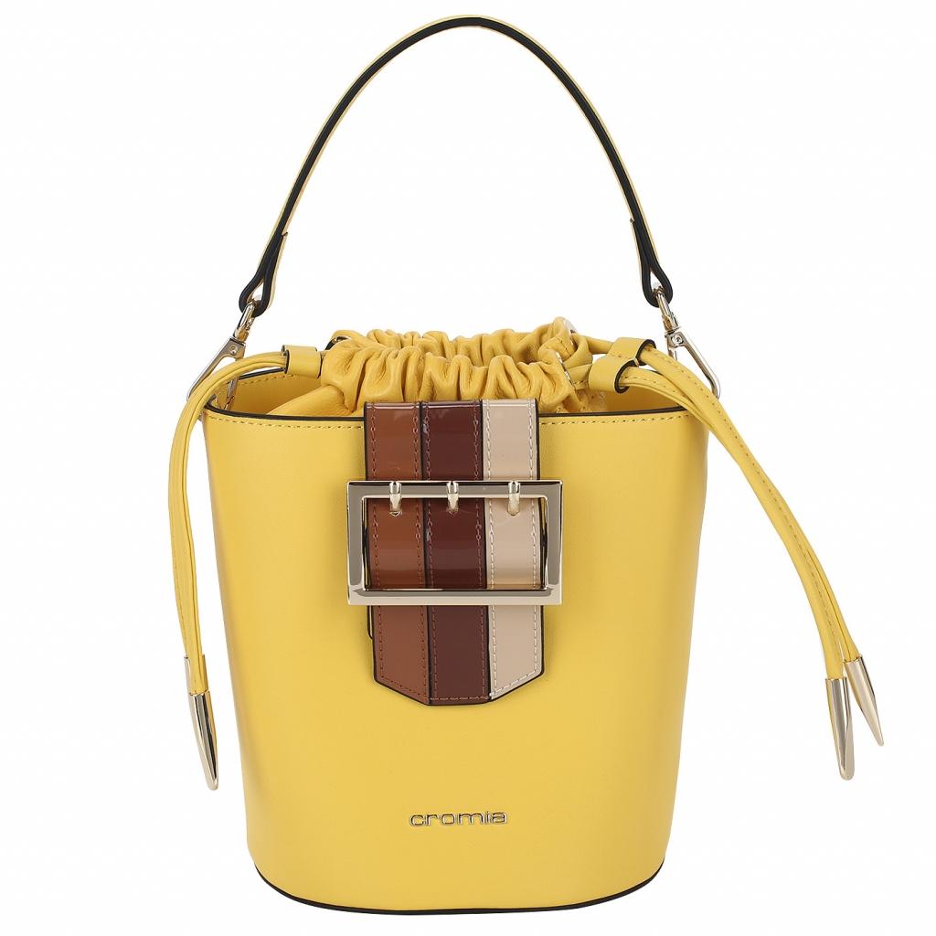 Кожаная сумка с плечевым ремнем Cromia Rashida