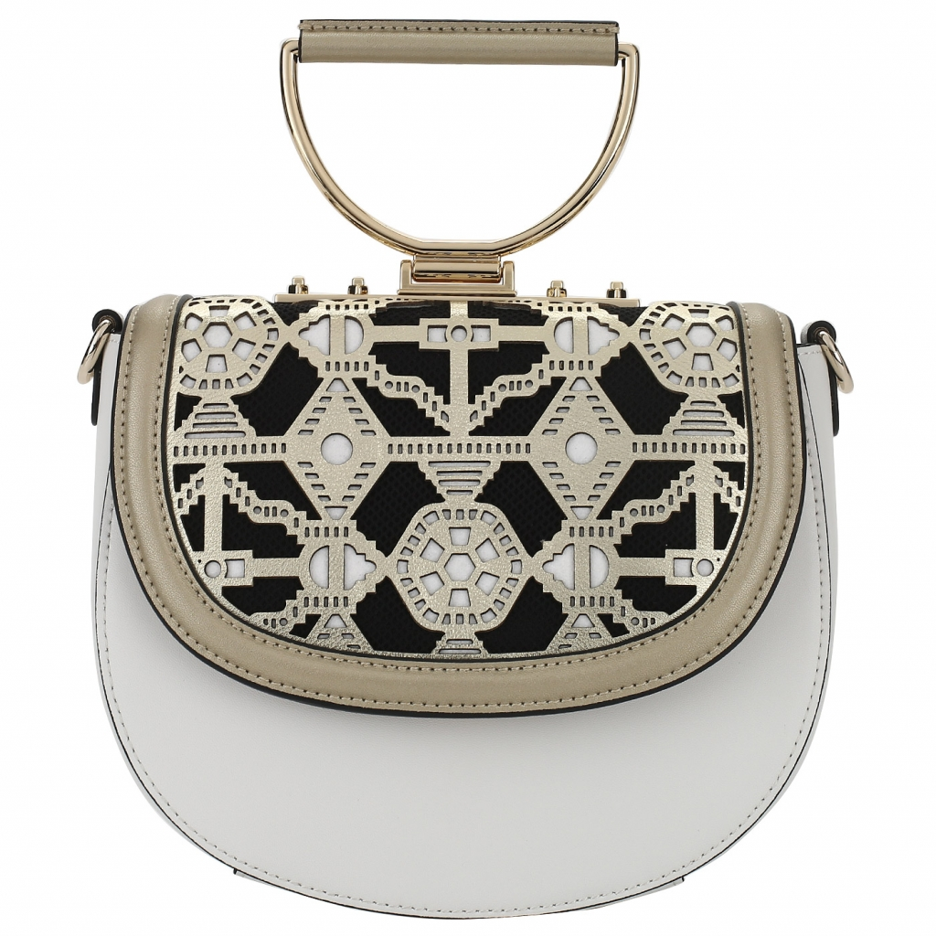 Кожаная сумочка с откидным клапаном Cromia Jala