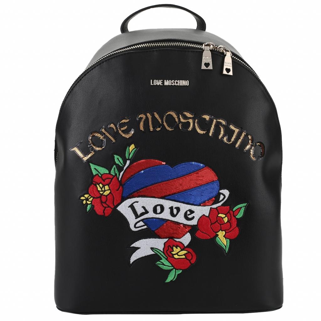 Рюкзак с вышивкой Love Moschino LM Embroidery